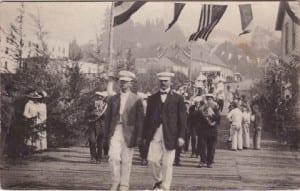 Historic Parade through Cathlamet