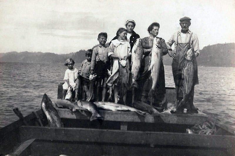 Historic photo of the regional bounty
