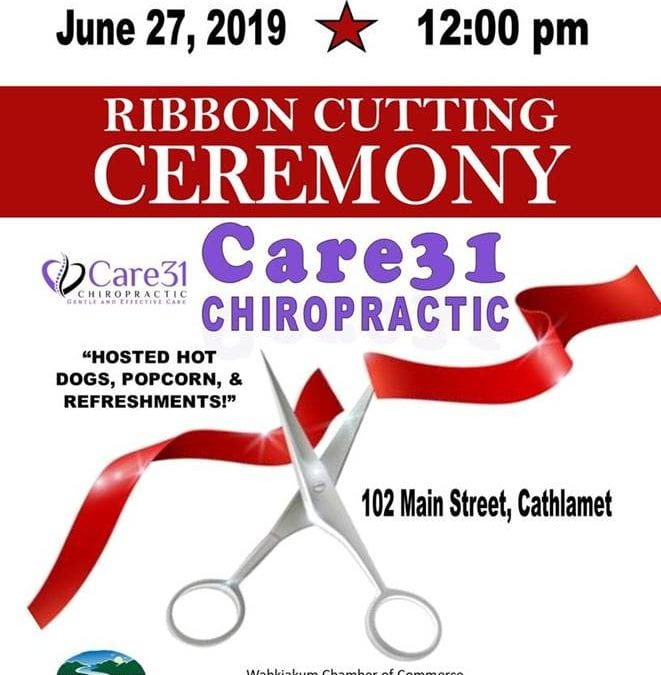 Care 31 Chiropractic Ribbon Cutting