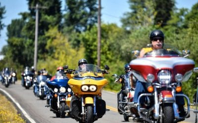 The Wheels of Wahkiakum County ride to raise money for various community groups