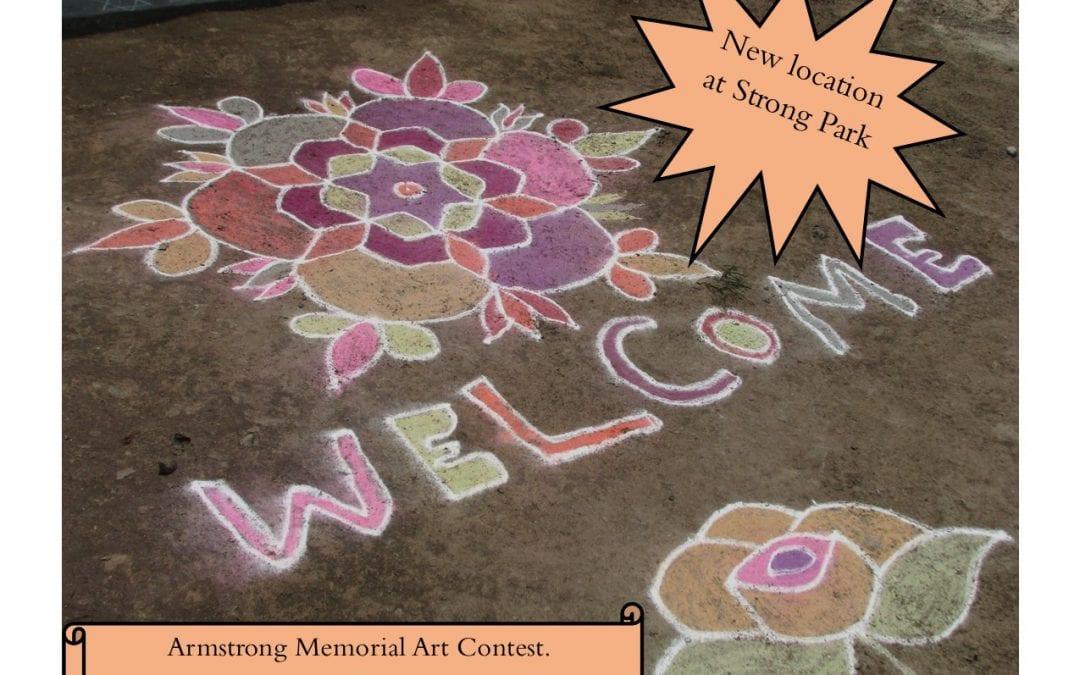 14th Annual Sidewalk Chalk Art Contest